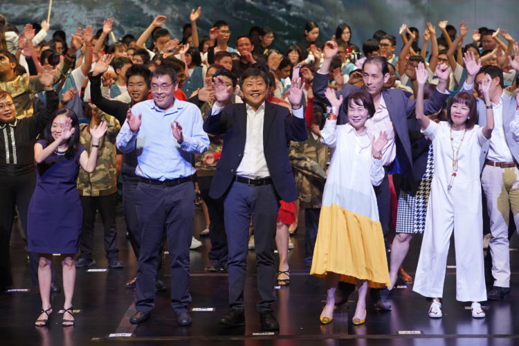 Finale Performing Act with the participation of Minister Ng Chee Meng