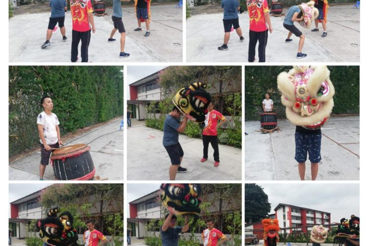 lion dance - 24 July